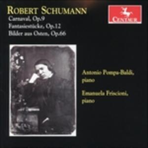 Carnaval op.9 - CD Audio di Robert Schumann