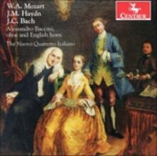Mozart, J. M. Haydn & J. C - CD Audio di Nuovo Quartetto Italiano