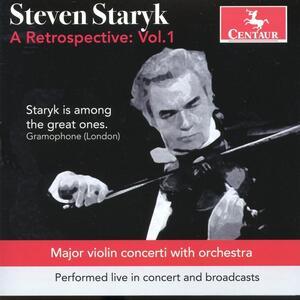 A Retrospective vol.1 - CD Audio di Steven Staryk