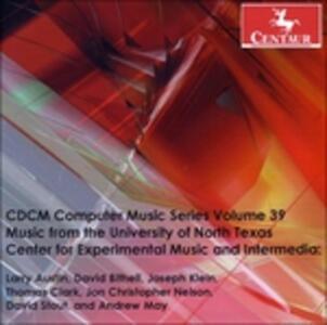 Cdcm Computer Music V. 39 - CD Audio