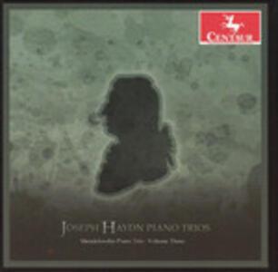 Trii con Pianoforte vol.3 - CD Audio di Franz Joseph Haydn