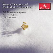 Women Composers & Their Music for Saxophone - CD Audio