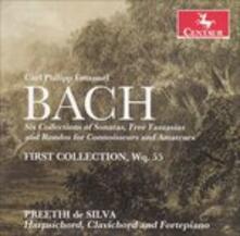 6 Collections of Sonatas, - CD Audio di Carl Philipp Emanuel Bach