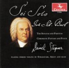 Sonate and Partitas - CD Audio di Johann Sebastian Bach