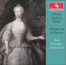 Exercises Sur Le Clavecin - CD Audio di Johann Ludwig Krebs