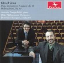 Concerto per Pianoforte op.16 - Holb - CD Audio di Edvard Grieg