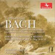 Sixth Collection & Second - CD Audio di Carl Philipp Emanuel Bach