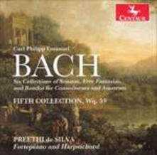 Fifth Collection - CD Audio di Carl Philipp Emanuel Bach
