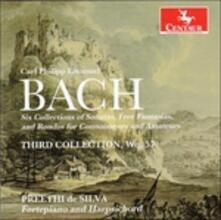 Third Collection Wq.57 - CD Audio di Carl Philipp Emanuel Bach