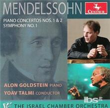 Concerti per Pianoforte No. 1 & 2 - CD Audio di Felix Mendelssohn-Bartholdy