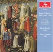 Trii con Pianoforte - CD Audio di Franz Schubert