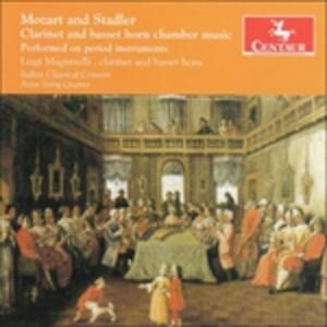 Clarinet and Basset Horn - CD Audio di Luigi Magistrelli