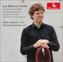 Six Sonatas for Cello & B - CD Audio di Fedor Amosov
