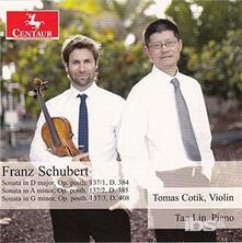 Sonate per Violino - CD Audio di Franz Schubert