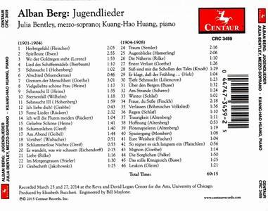 Jugendlieder - CD Audio di Alban Berg - 2