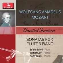 Sonate per flauto e pianoforte - CD Audio di Wolfgang Amadeus Mozart