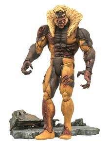 Action Figure Marvel Select Zombie Sabertooth Figura Di Azione - 3