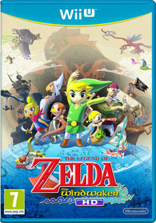 Nintendo Legend of Zelda: The Wind Waker HD Wii U
