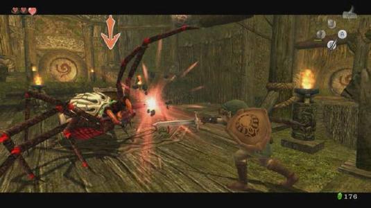Videogioco Legend of Zelda: The Twilight Princess HD Nintendo Wii U 4