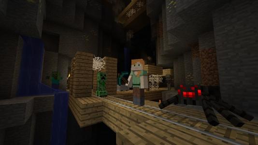 Videogioco Minecraft: Wii U Edition Nintendo Wii U 3