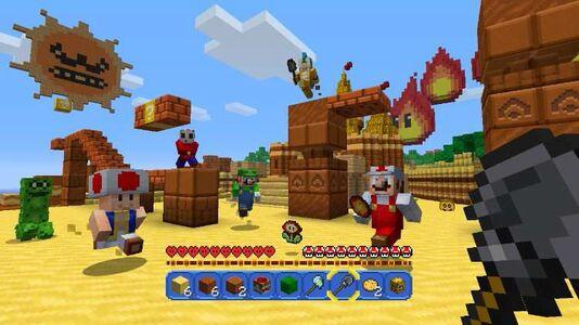 Videogioco Minecraft: Wii U Edition Nintendo Wii U 4