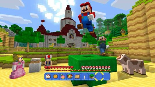 Videogioco Minecraft: Wii U Edition Nintendo Wii U 5