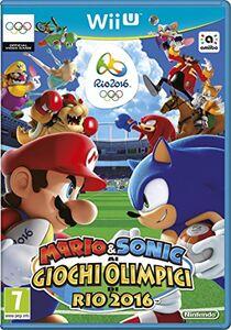 Videogioco Mario & Sonic ai Giochi Olimpici di Rio - Wii U Nintendo Wii U