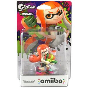 amiibo Ragazza Inkling. Splatoon Collection
