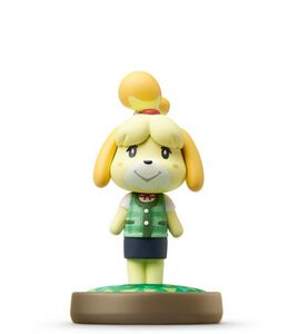 Videogioco amiibo Animal Crossing Fuffi (Vestito estivo) Nintendo Wii U 1