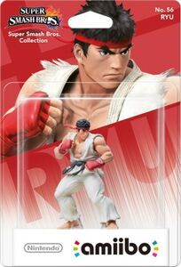 Videogioco amiibo Super Smash Bros. Ryu (56) Nintendo Wii U 0