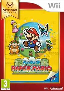 Super Paper Mario - Nintendo Selects - Wii