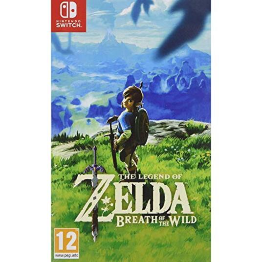 Nintendo The Legend of Zelda: Breath of the Wild, Switch videogioco Nintendo Switch Basic