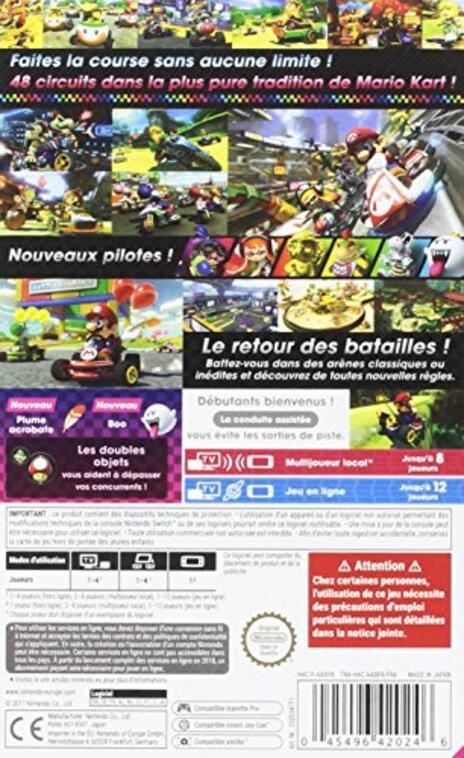 Mario Kart 8 Deluxe SWITCH - 2