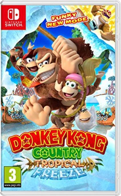 Donkey Kong Country: Tropical Freeze Nintendo Switch [Edizione: Francia]