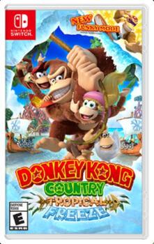 Nintendo Donkey Kong Country: Tropical Freeze videogioco Nintendo Switch Basic Multilingua
