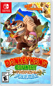 Nintendo Donkey Kong Country Tropical Freeze - SWITCH