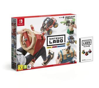 Nintendo LABO Kit Veicoli - Switch - 8