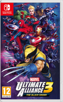 Nintendo Marvel Ultimate Alliance 3: The Black Order - SWITCH
