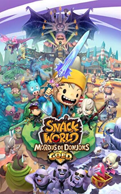 Snack World : Mordus de Donjons Gold Nintendo Switch [Edizione: Francia]