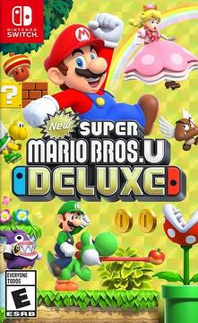 New Super Mario Bros.U Deluxe - Switch [French Edition]