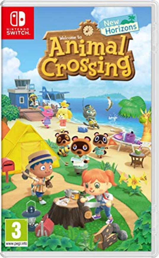 Animal Crossing : New Horizons Nintendo Switch [Edizione: Francia]