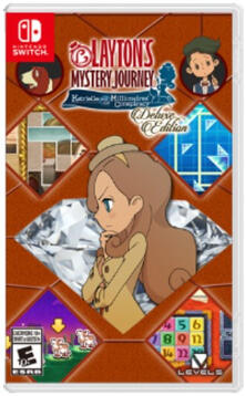 Nintendo LAYTON'S MYSTERY JOURNEY™: Katrielle and the Millionaires' Conspiracy videogioco Nintendo Switch Deluxe Inglese, ITA