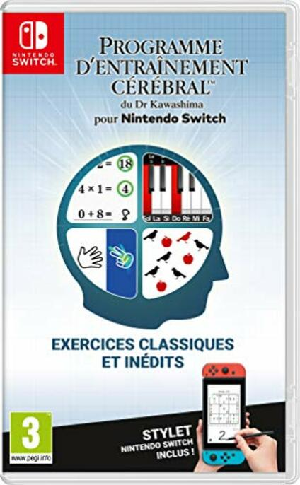 Programme d'Entraînement cérébral du Dr Kawashima Nintendo Switch [Edizione: Francia]