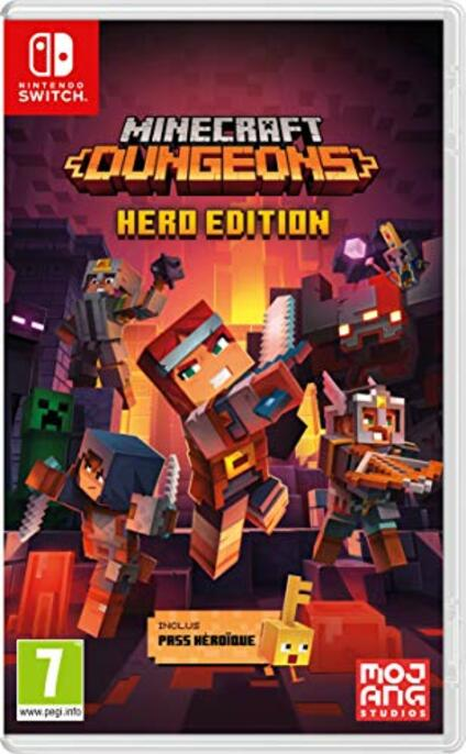 Minecraft Dungeons Hero Edition Nintendo Switch [Edizione: Francia]