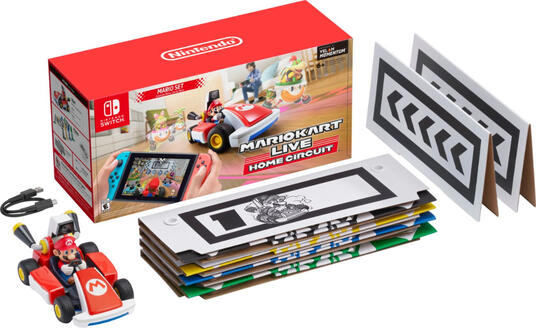Nintendo Mario Kart Live: Home Circuit, Switch Auto Motore elettrico