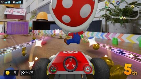 Nintendo Mario Kart Live: Home Circuit, Switch Auto Motore elettrico - 4