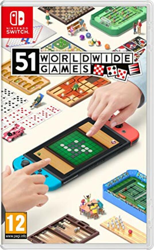 51 Worldwide Games Nintendo Switch [Edizione: Francia]