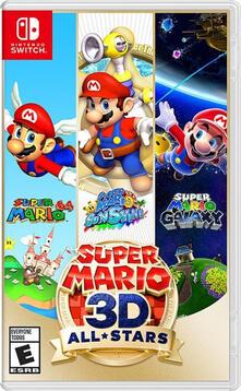 Nintendo Super Mario 3D All-Stars Nintendo Switch Basic Tedesca, Inglese, ESP, Francese, ITA