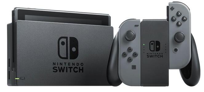 Nintendo Switch con Joy-Con Grigi - 4