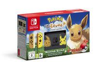 """Nintendo Switch - Pokémon: Let's Go, Eevee! console da gioco portatile Nero, Giallo 15,8 cm (6.2"""") 32 GB Wi-Fi"""